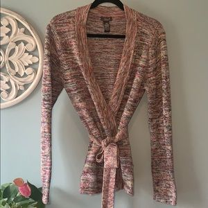 Dex wrap sweater